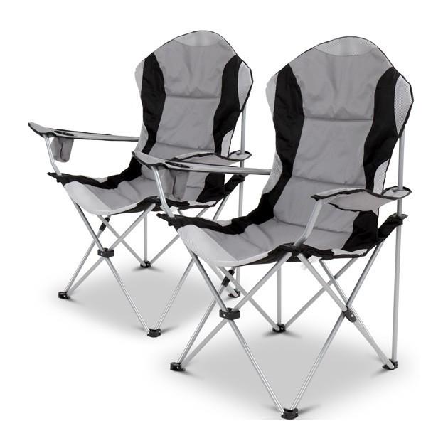 miadomodo chaise de camping avec housse de. Black Bedroom Furniture Sets. Home Design Ideas