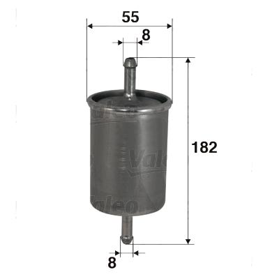 valeo filtre carburant 587027. Black Bedroom Furniture Sets. Home Design Ideas