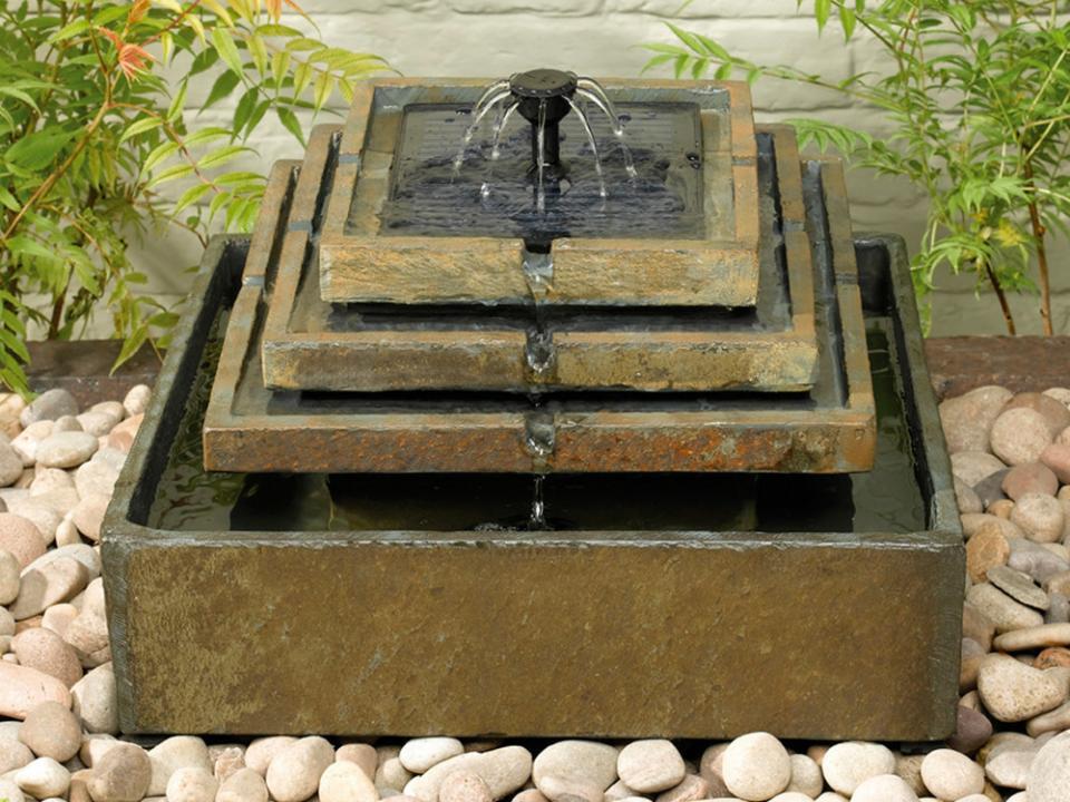 Catgorie fontaine de jardin du guide et comparateur d 39 achat - Fontaine de jardin solaire ...