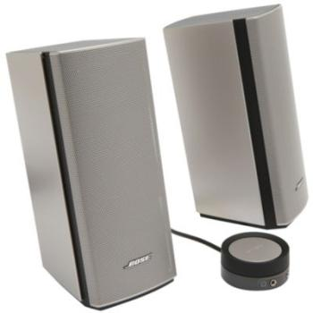 enceinte pc bose companion 20. Black Bedroom Furniture Sets. Home Design Ideas