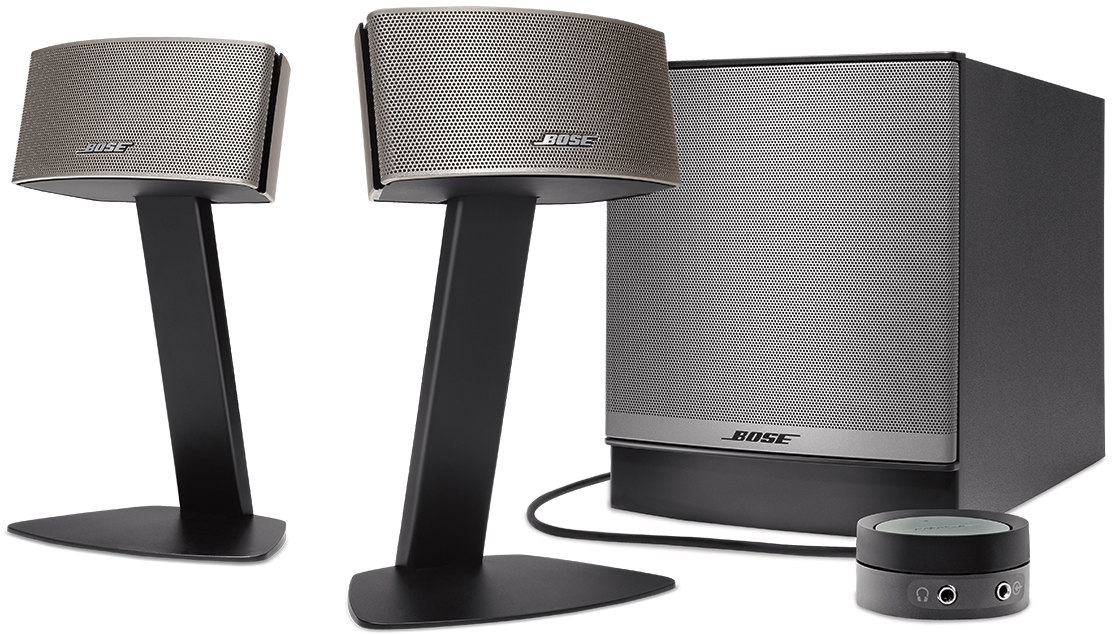 enceinte pc bose companion 50. Black Bedroom Furniture Sets. Home Design Ideas