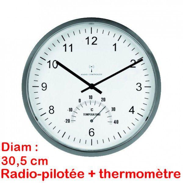 Horloge thermomtre guide d 39 achat for Recherche pendule murale