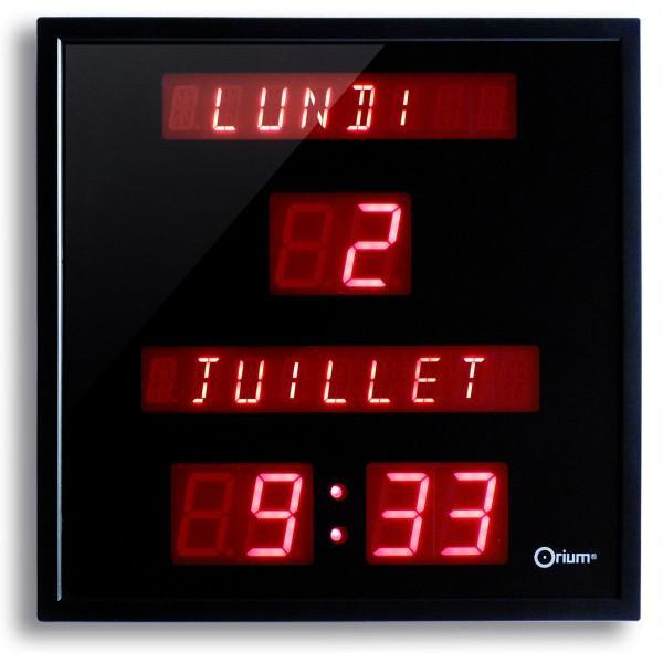 Horloge date guide d 39 achat for Pendule digitale led