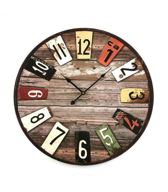 Horloge guide d 39 achat for Horloge murale grande dimension