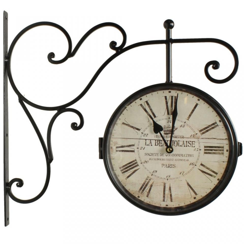 Catgorie horloges pendule et comtoise du guide et - Horloge de gare murale ...