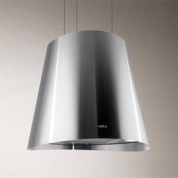 hotte decorative elica stripe luxe verre noir verre blanc. Black Bedroom Furniture Sets. Home Design Ideas