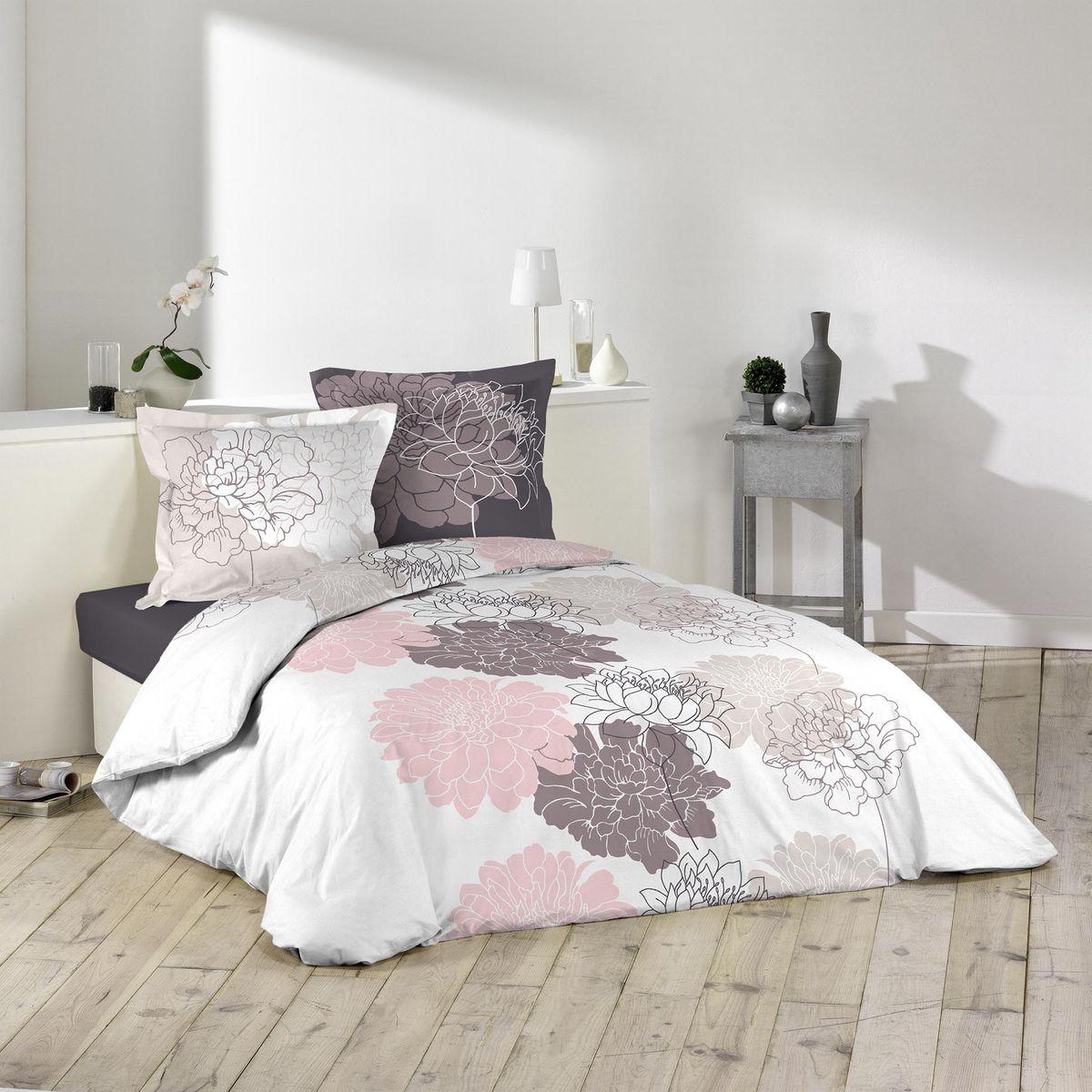 douceur parure de lit flavy 240x220 dintrieur. Black Bedroom Furniture Sets. Home Design Ideas