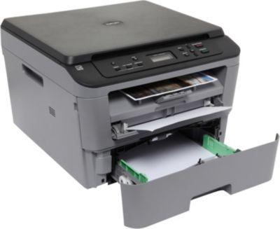 brother dcp l2500d imprimante multifonction impression copie scan laser noir et. Black Bedroom Furniture Sets. Home Design Ideas
