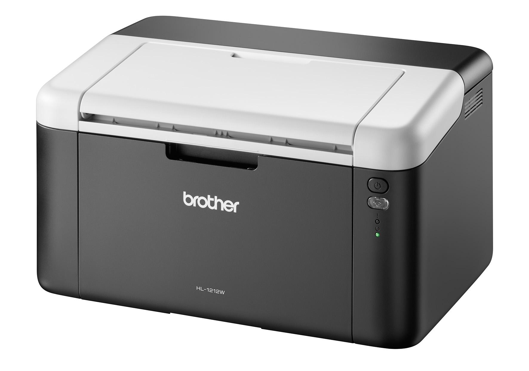 imprimante laser noir et blanc brother hl 1212w. Black Bedroom Furniture Sets. Home Design Ideas