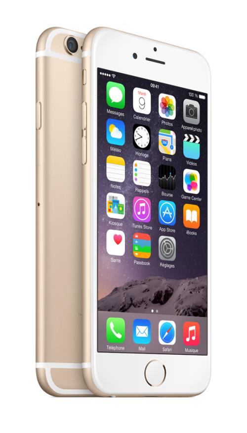apple cmobile nu reconditionn iphone 6 16 go or recond. Black Bedroom Furniture Sets. Home Design Ideas