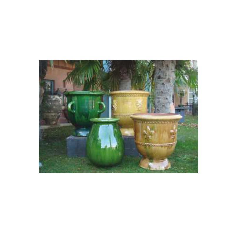 Vasque de jardin en terre cuite vasque fleurs pots de for Achat terre de jardin