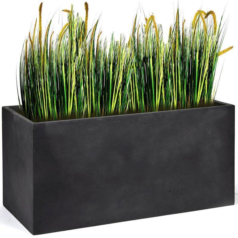 Catgorie jardinire du guide et comparateur d 39 achat for Jardiniere en fibre rectangulaire