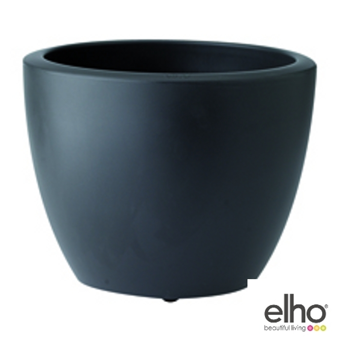 elho pot de fleur soft round 60 cm. Black Bedroom Furniture Sets. Home Design Ideas