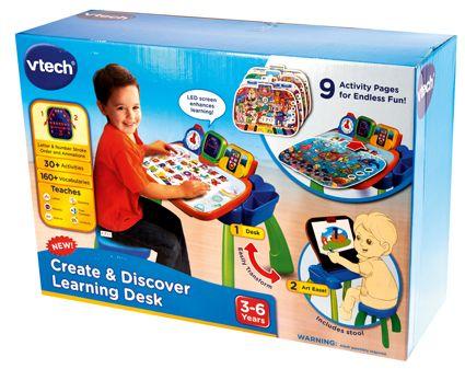 Vtech Cmagi Bureau Interactif 3 En 1