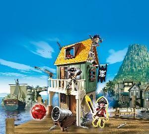 playmobil c 4796 fort des pirates camoufl avec ruby. Black Bedroom Furniture Sets. Home Design Ideas