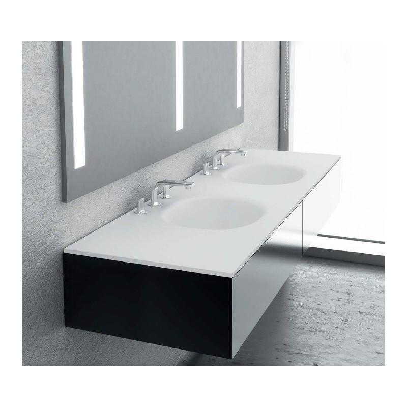 good carrelage salle de bain bricoman carrelage salle de bain meuble double vasque villeroy et. Black Bedroom Furniture Sets. Home Design Ideas
