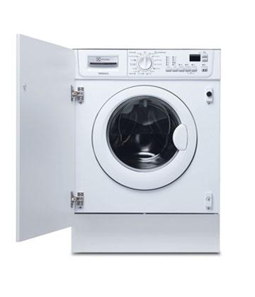 electrolux ewg 127410 w lave linge hublot encastrable. Black Bedroom Furniture Sets. Home Design Ideas