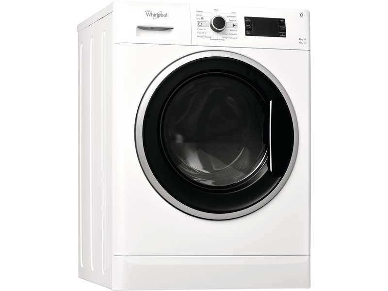 lave linge s chant 8kg whirlpool wwdc8614. Black Bedroom Furniture Sets. Home Design Ideas