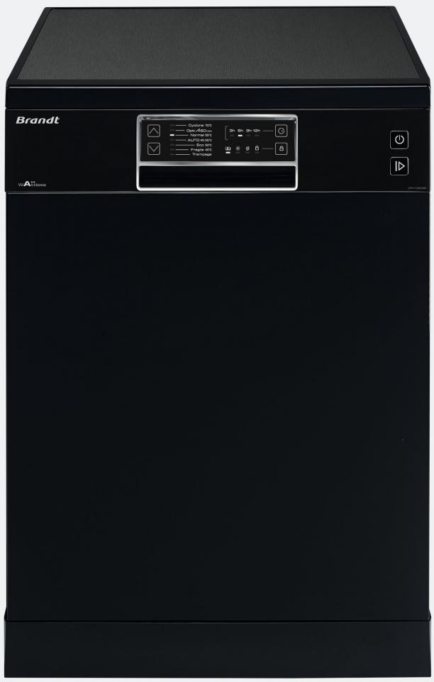 lave vaisselle 13 couverts brandt dfh13524w. Black Bedroom Furniture Sets. Home Design Ideas