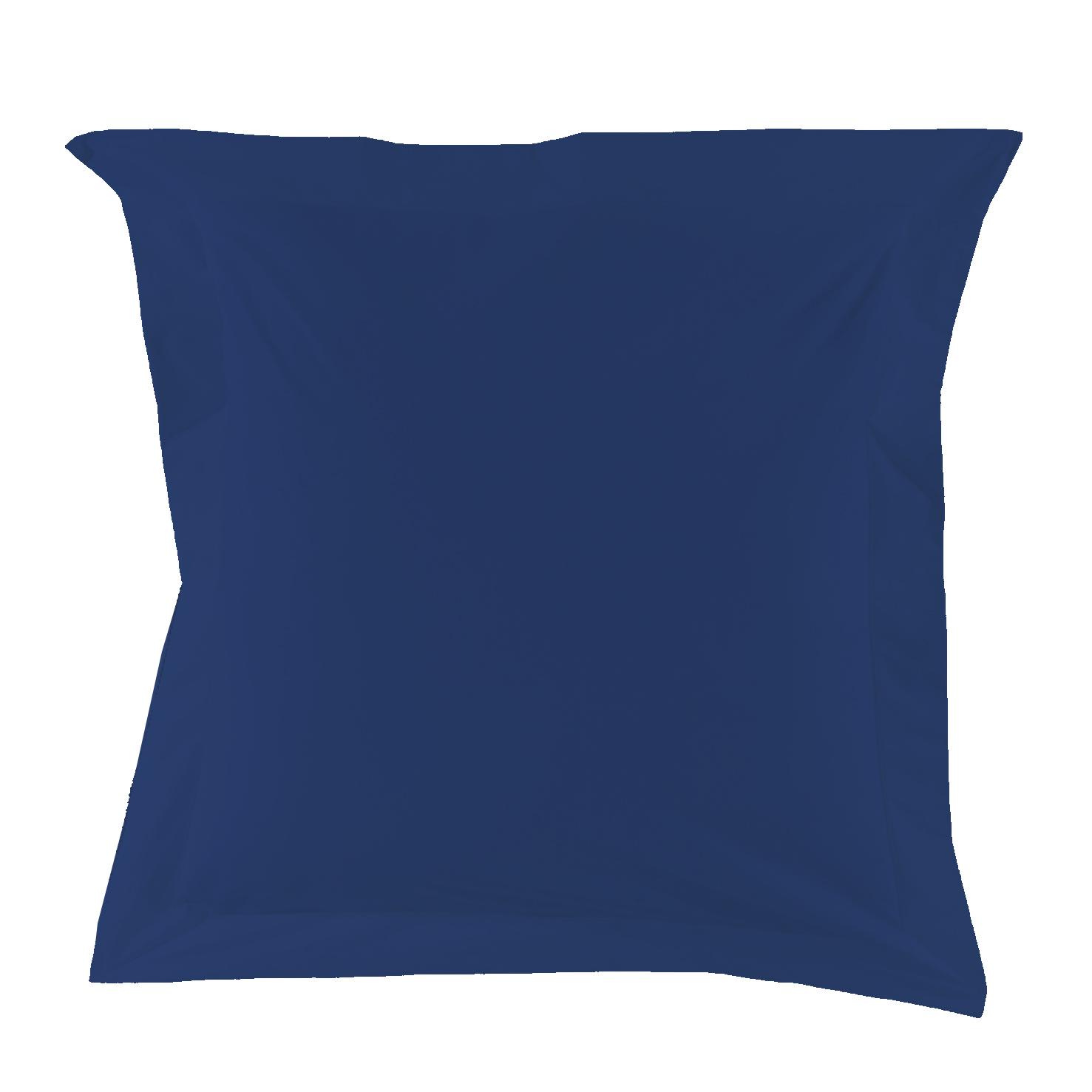Essix housse de couette percale royal home 140 x 200 cm for Housse de couette bleu nuit