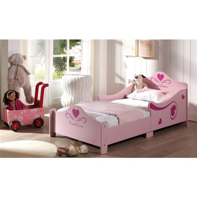 someo lit enfant fille altesse 70x140. Black Bedroom Furniture Sets. Home Design Ideas