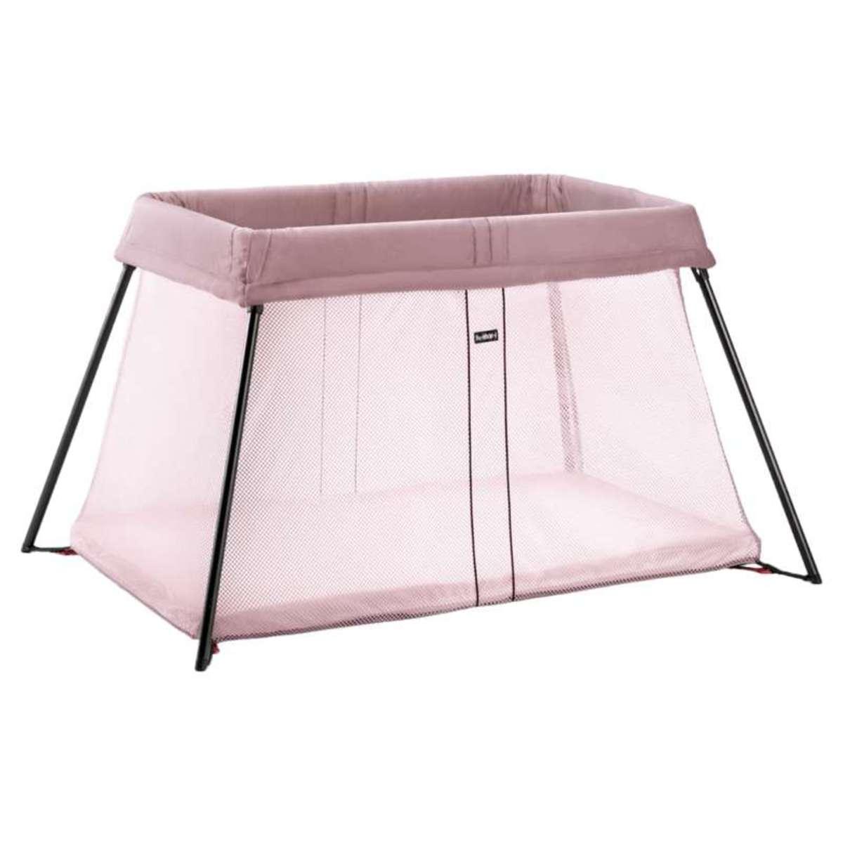 babybjorn lit parapluie de voyage light rose. Black Bedroom Furniture Sets. Home Design Ideas