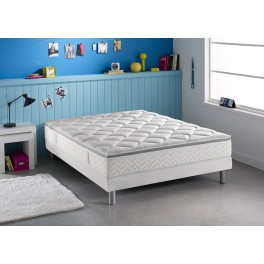 dunlopillo literie breteuil matelas sommier pieds taille 2. Black Bedroom Furniture Sets. Home Design Ideas