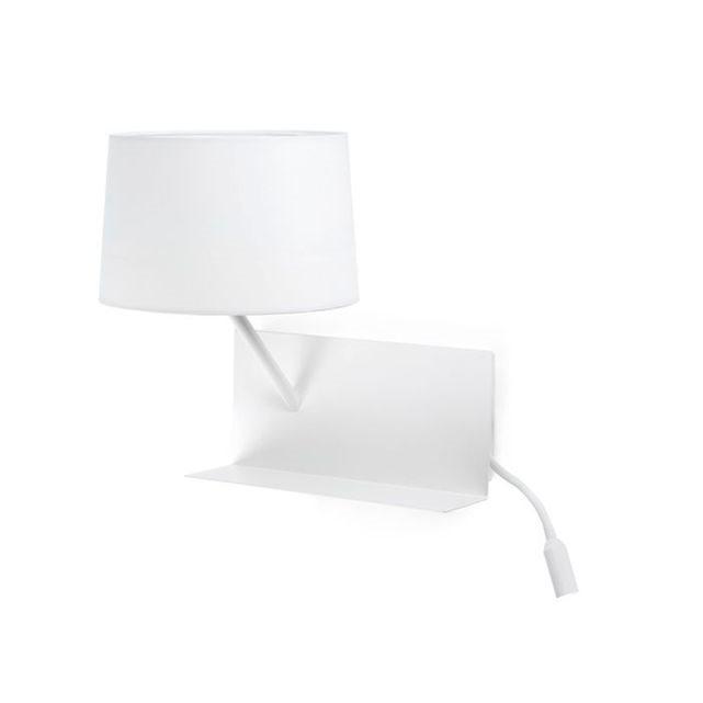 faro c applique suau avec liseuse led gauche usb. Black Bedroom Furniture Sets. Home Design Ideas