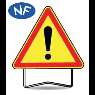 taliaplast c panneau signalisation danger attention danger ak. Black Bedroom Furniture Sets. Home Design Ideas