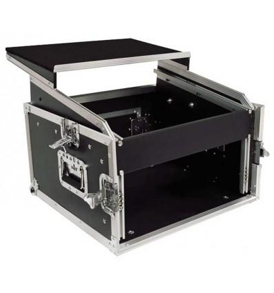 bst flight case meuble de rangement 19 rmc6u catgorie table de mixage. Black Bedroom Furniture Sets. Home Design Ideas