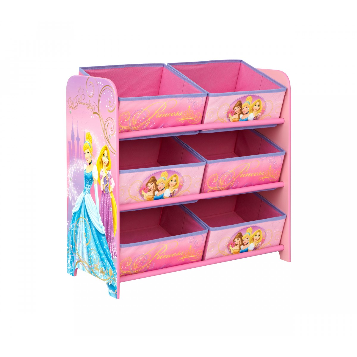 someo soldes rangement 3 tag res et 6 paniers princess. Black Bedroom Furniture Sets. Home Design Ideas