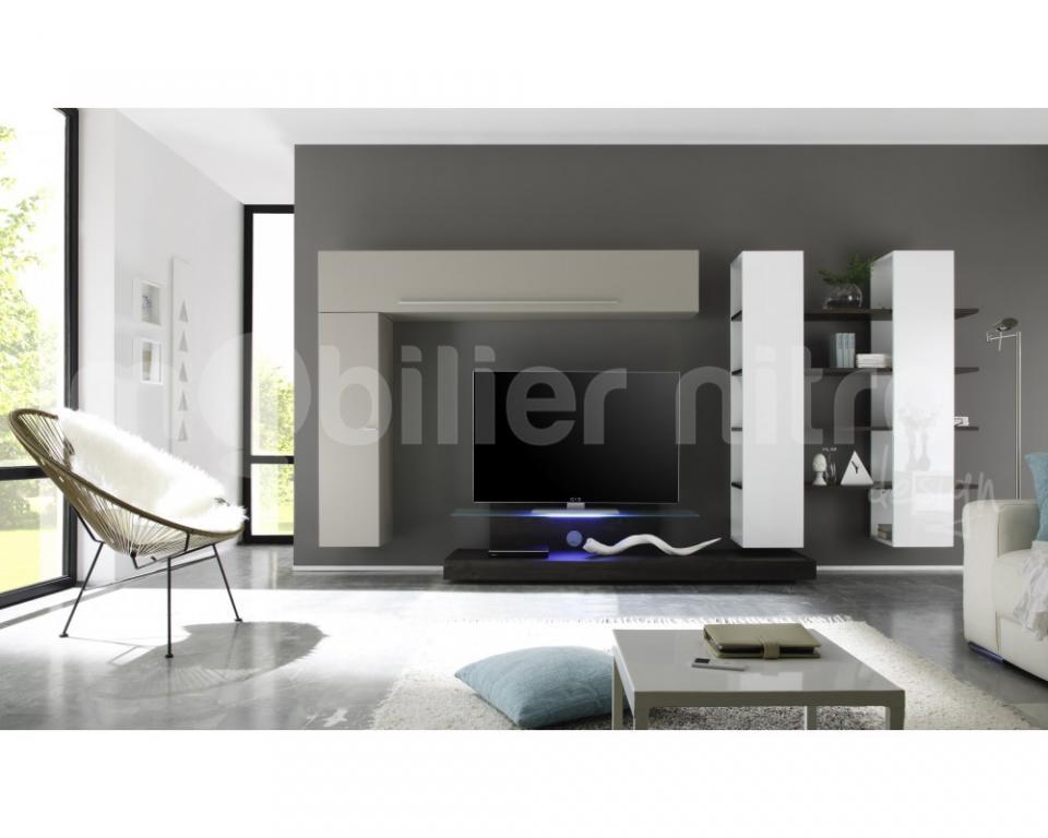 Meuble verre guide d 39 achat - Ensemble meuble tv design ...
