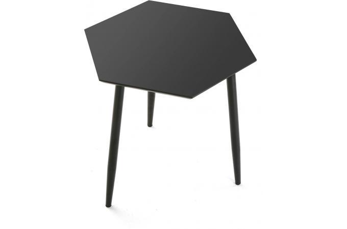 table d'appoint en plexiglas