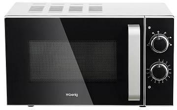 four micro ondes 20l vio4 inox h koenig. Black Bedroom Furniture Sets. Home Design Ideas
