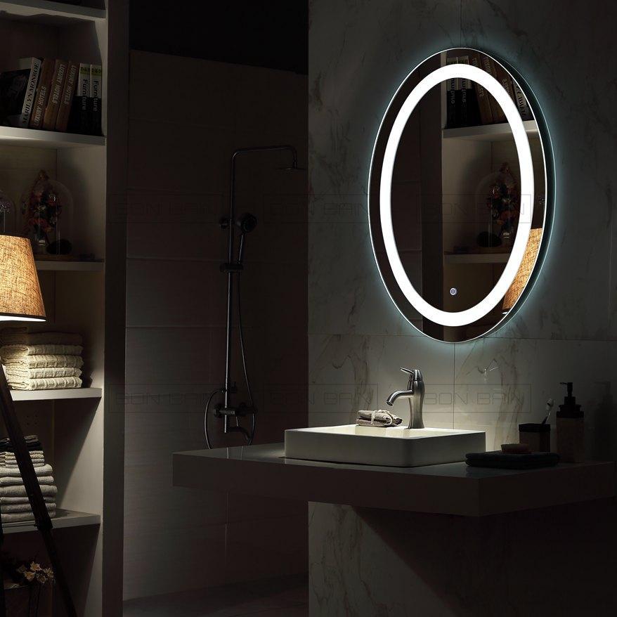 Catgorie miroir du guide et comparateur d 39 achat - Miroir salle de bain rond ...