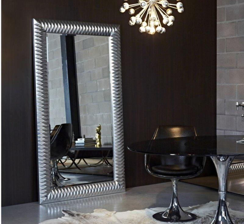 grand miroir salon design maison design. Black Bedroom Furniture Sets. Home Design Ideas