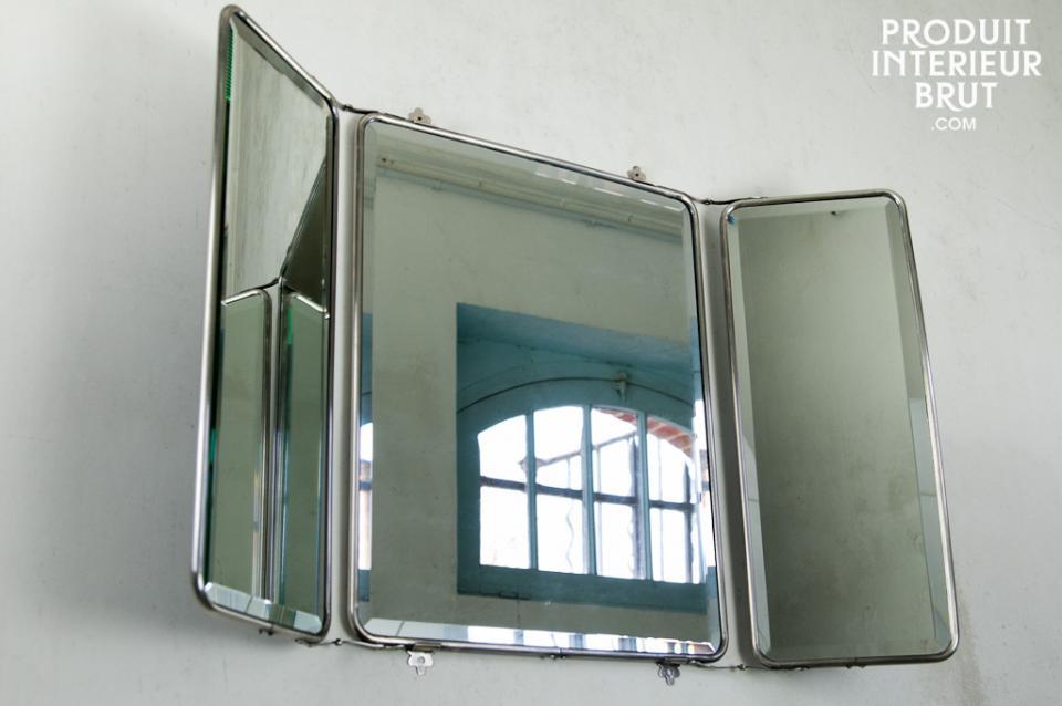 Catgorie miroir du guide et comparateur d 39 achat for Miroir trois faces salle de bain
