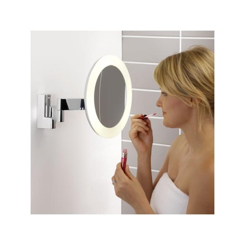 Catgorie miroir du guide et comparateur d 39 achat - Miroir grossissant lumineux mural ...
