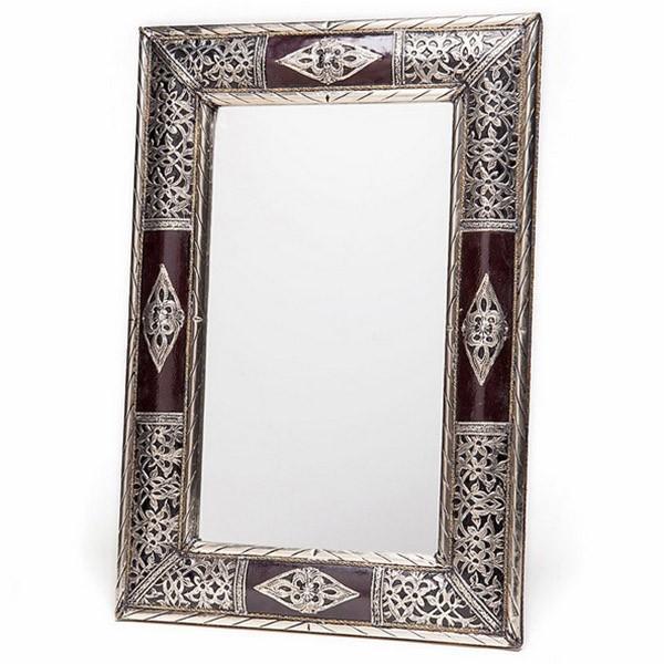 Catgorie miroir du guide et comparateur d 39 achat for Miroir argente rectangulaire