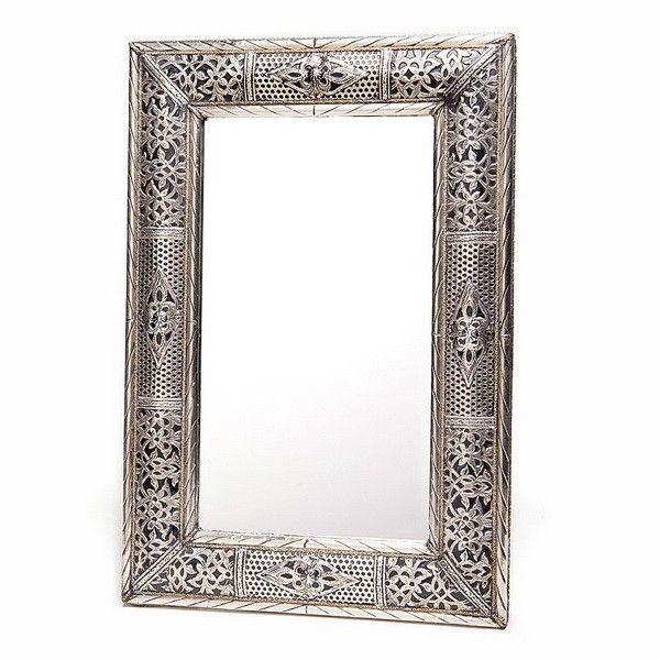 Catgorie miroir du guide et comparateur d 39 achat for Miroir rectangulaire argent
