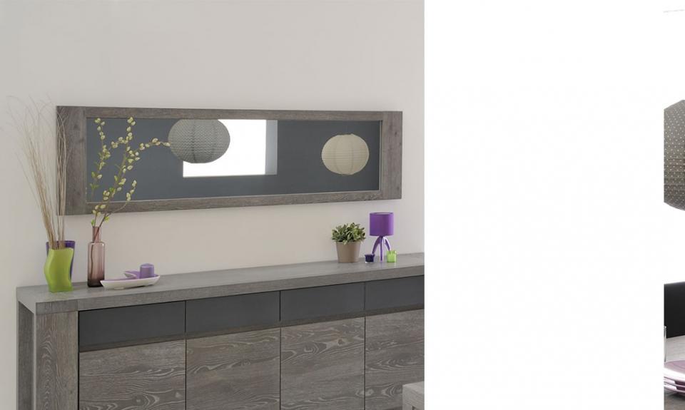 Grand miroir mural dore design classique miroirs for Achat grand miroir
