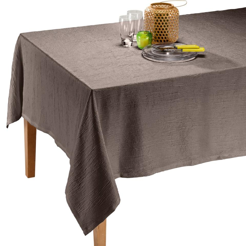 100 nappe rectangulaire coton polyester teflon - Nappe table rectangulaire ...