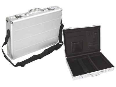 perel mallette aluminium pour ordinateur portable 425 x 305 x 80mm. Black Bedroom Furniture Sets. Home Design Ideas