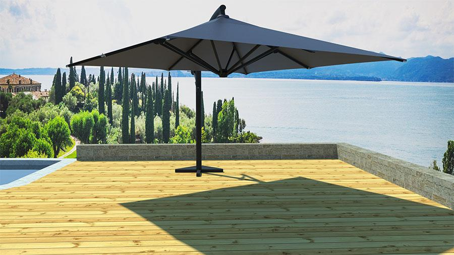 parasol rouge leroy merlin ordinary parasol deporte inclinable leroy merlin with parasol dport. Black Bedroom Furniture Sets. Home Design Ideas