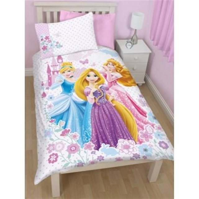 disney parure de lit princess dreams. Black Bedroom Furniture Sets. Home Design Ideas