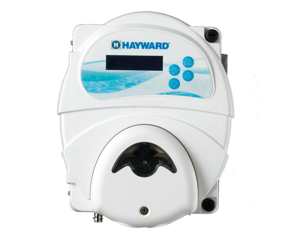 Hayward r gulateur ph avec pompe p ristatique for Pompe ph piscine