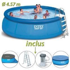 Catgorie piscine gonflable page 1 du guide et comparateur - Piscine autoportante intex easy set ...