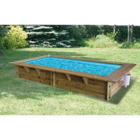 Catgorie piscine du guide et comparateur d 39 achat - Piscine bois rectangulaire hors sol ...