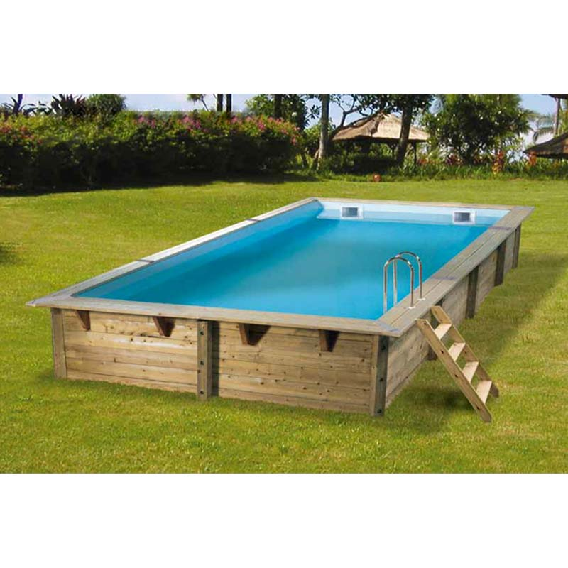 Piscine en bois promo affordable piscine rue du commerce for Comparateur de prix piscine bois
