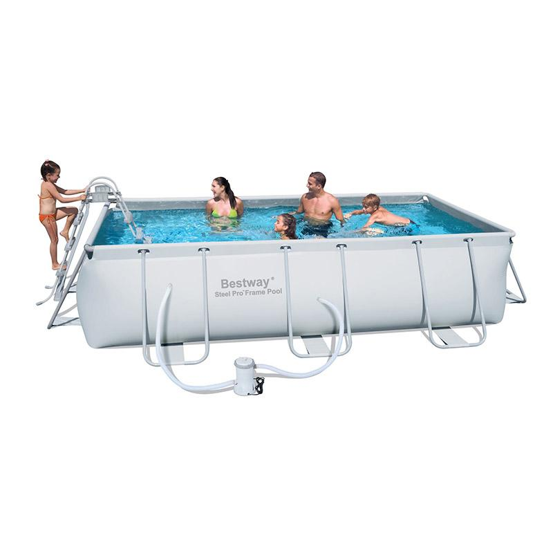 Piscine guide d 39 achat for Taille standard piscine rectangulaire